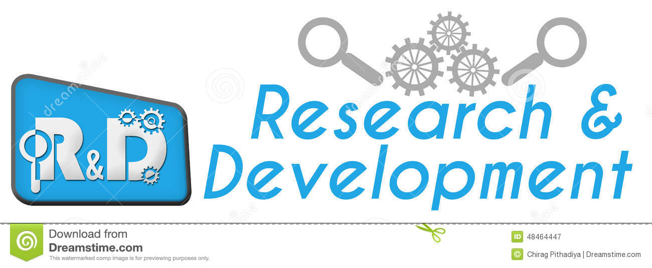 research and development Define research and development: studies and tests that are done in order to design new or improved products — research and development in a sentence.