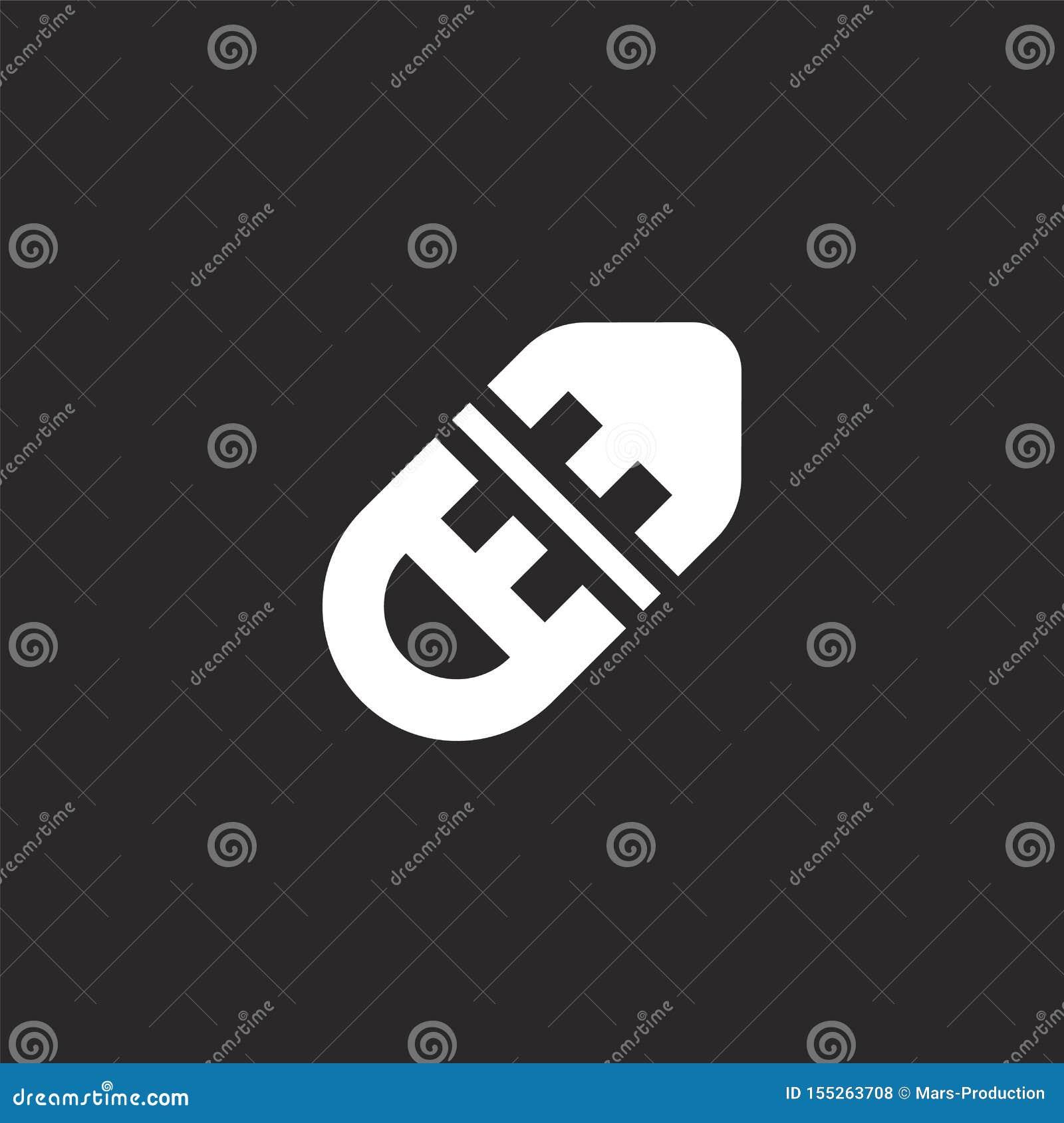 R?ddningsaktionbojsymbol Fylld räddningsaktionbojsymbol för websitedesignen och mobilen, apputveckling räddningsaktionbojsymbol f