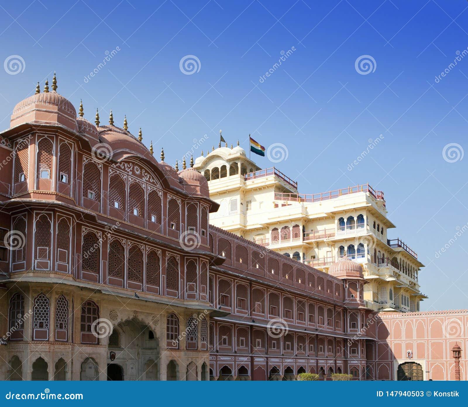 R Jaipur Παλάτι παλατιών πόλεων του μαχαραγιά