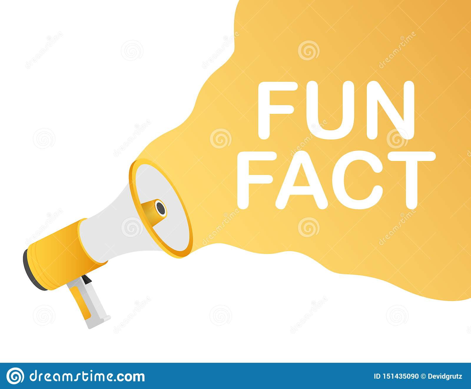 R?ki mienia megafon - zabawa fact budowy ilustraci zapas pod wektorem