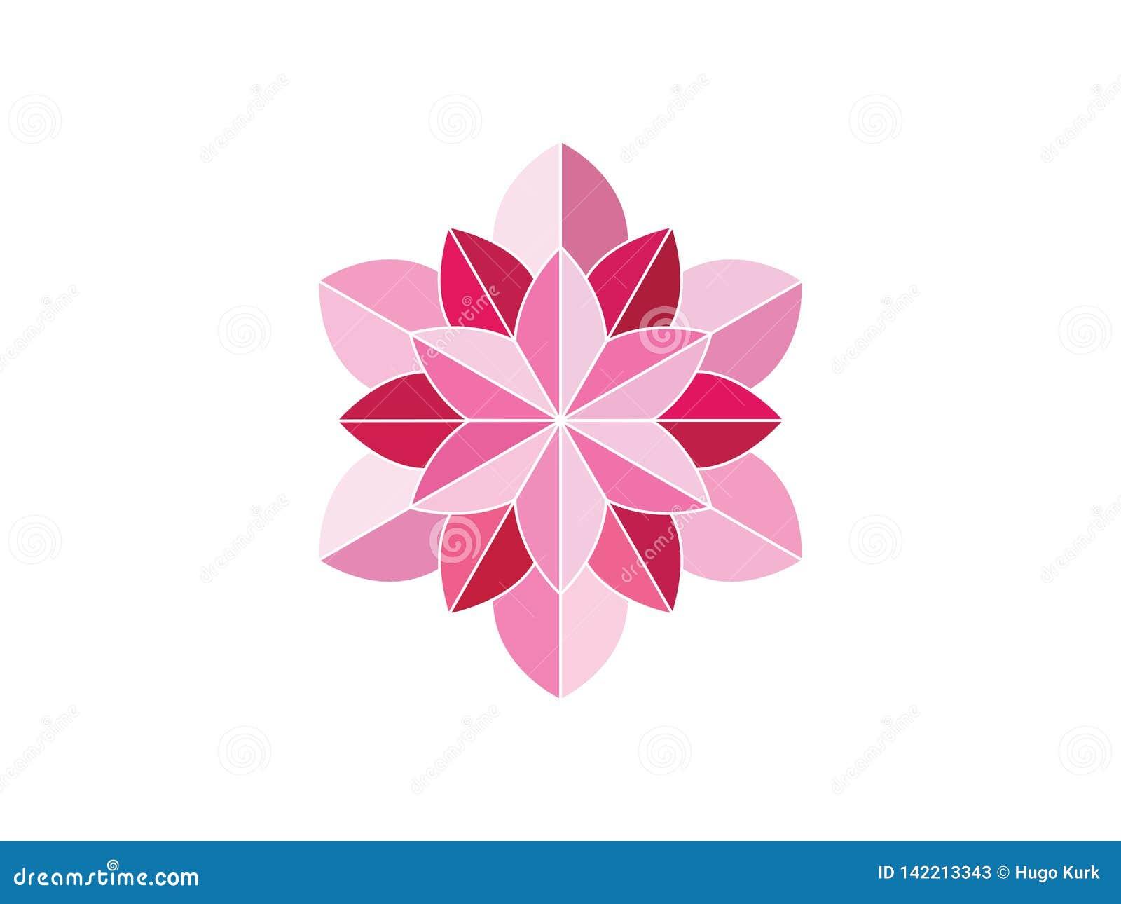 R??owy kwiatu ornament
