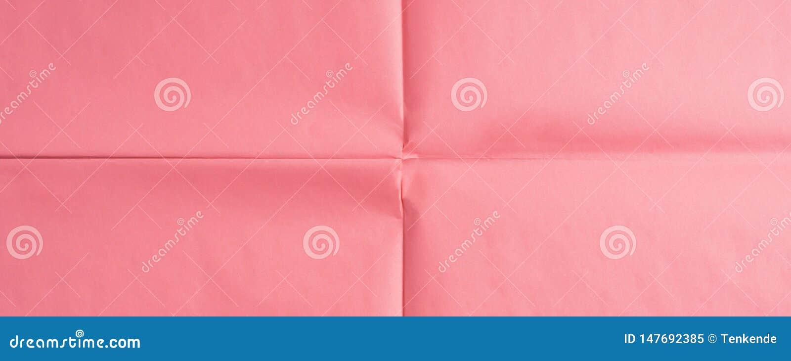 R??owy papierowy t?o z zagniecenie tekstur?