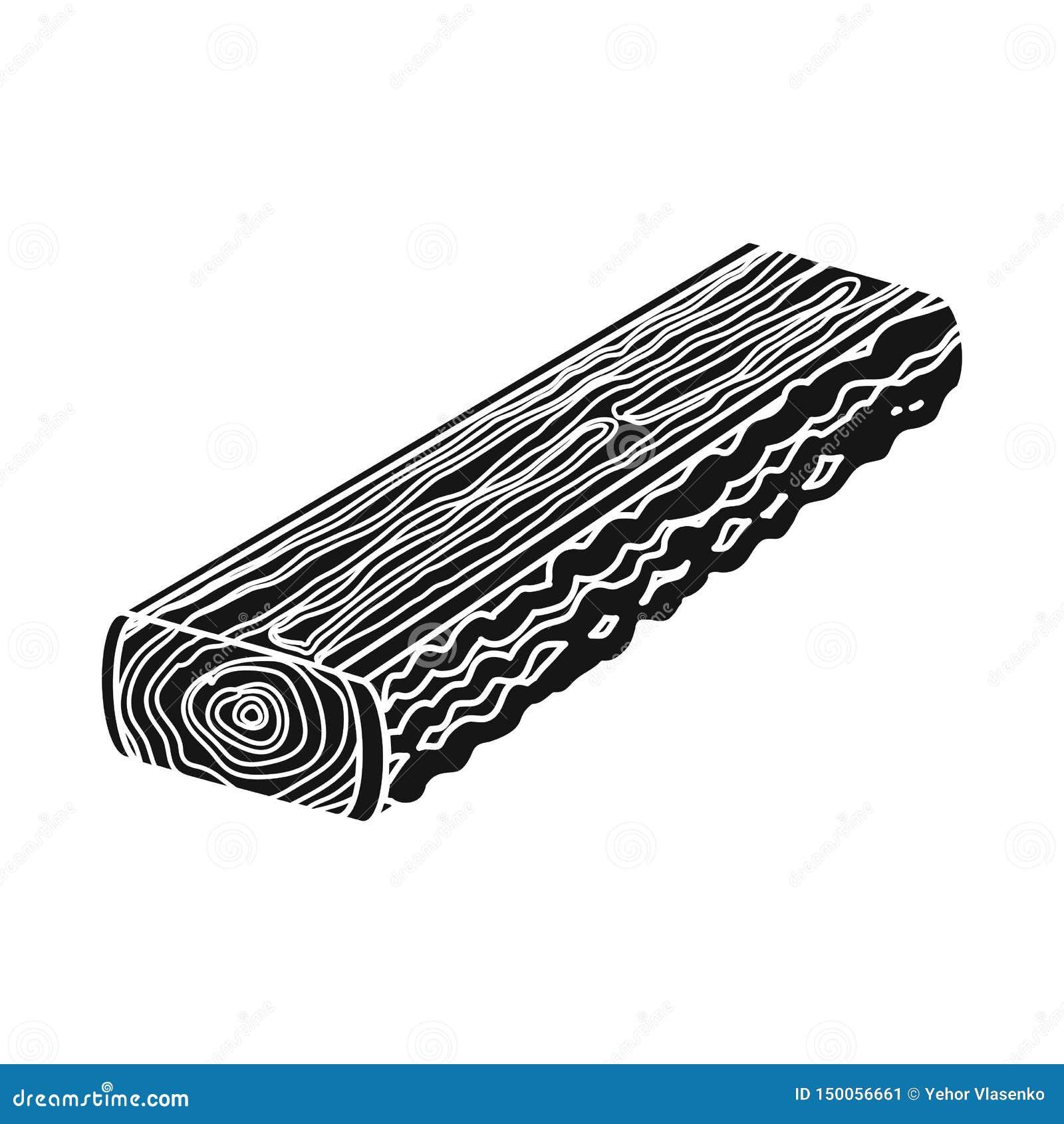 R Raccolta dell illustrazione di riserva di vettore del legname e del legname
