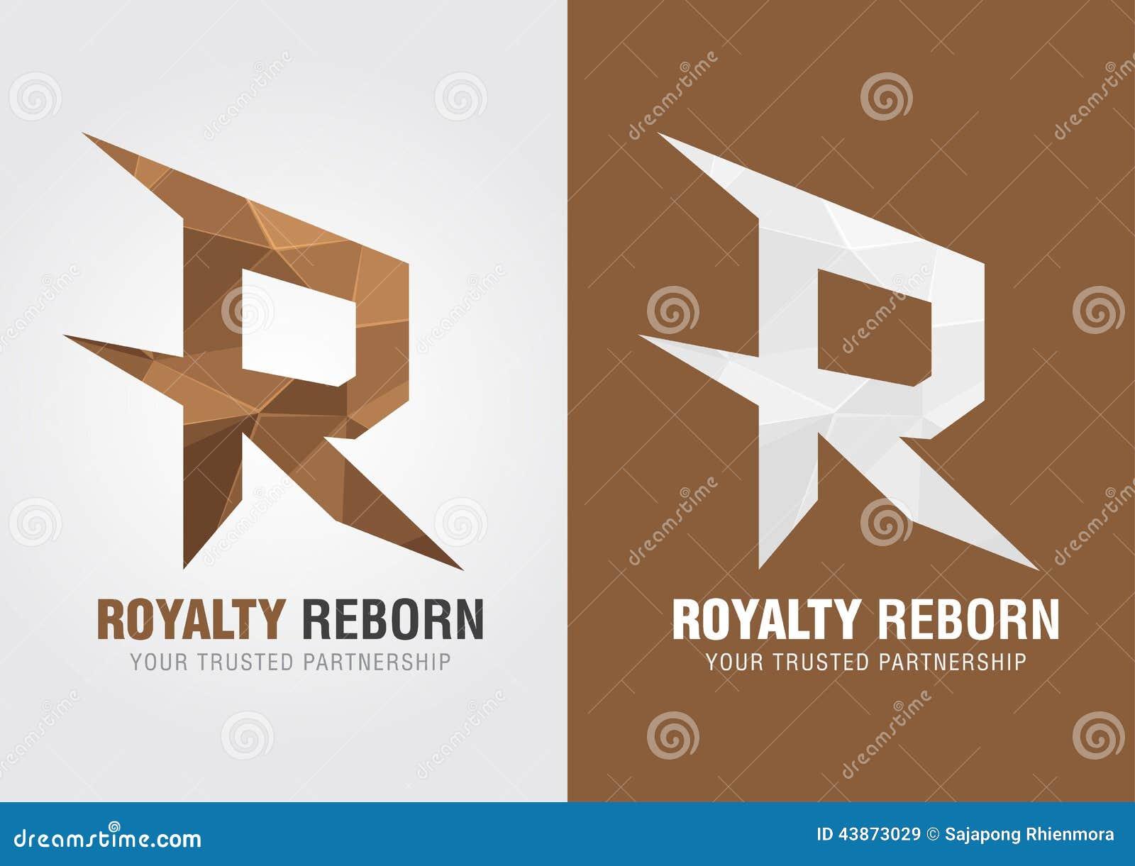 R Symbol R Royalty reborn  Icon symbol