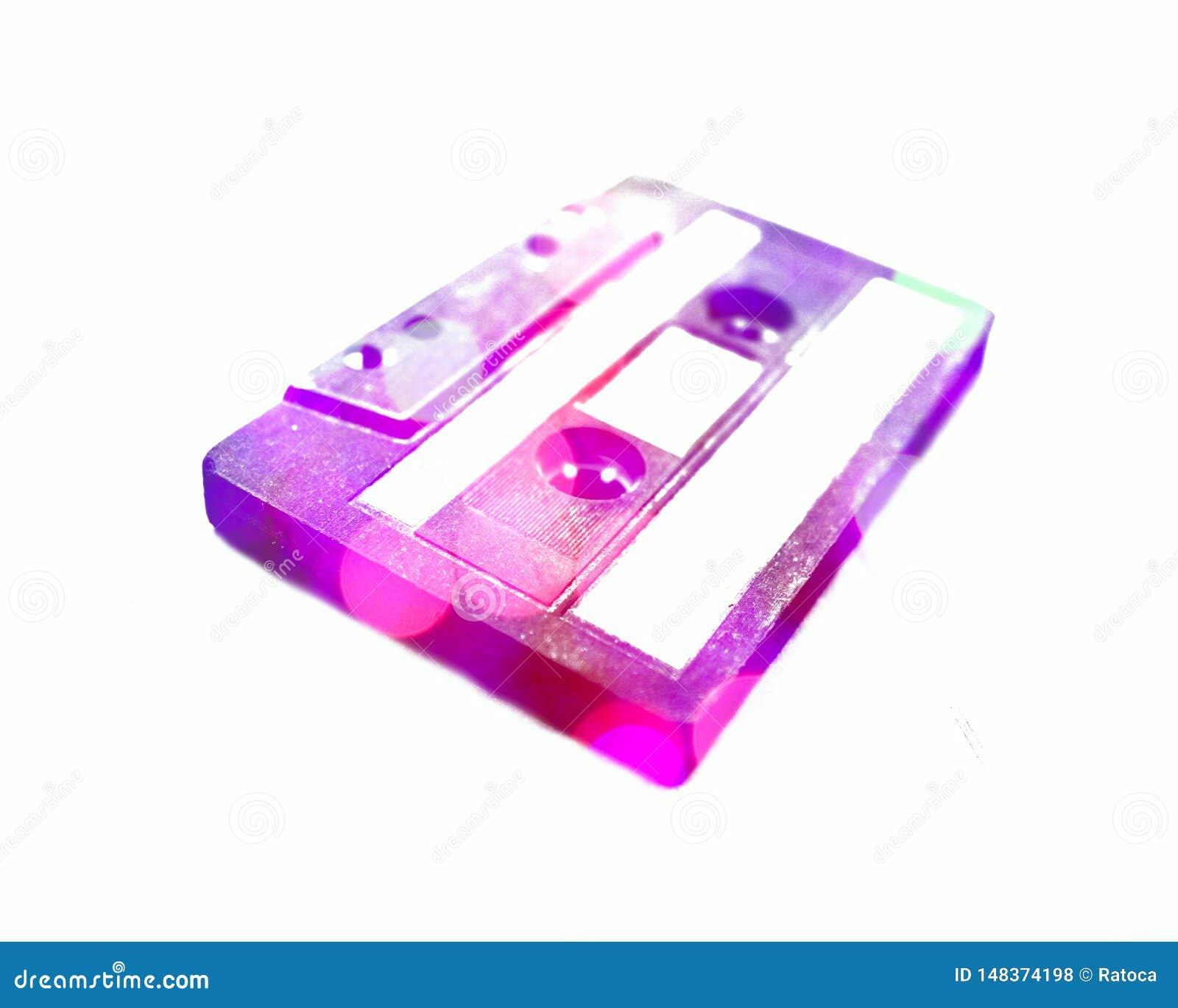 R?tro d?tail gentil de cassette