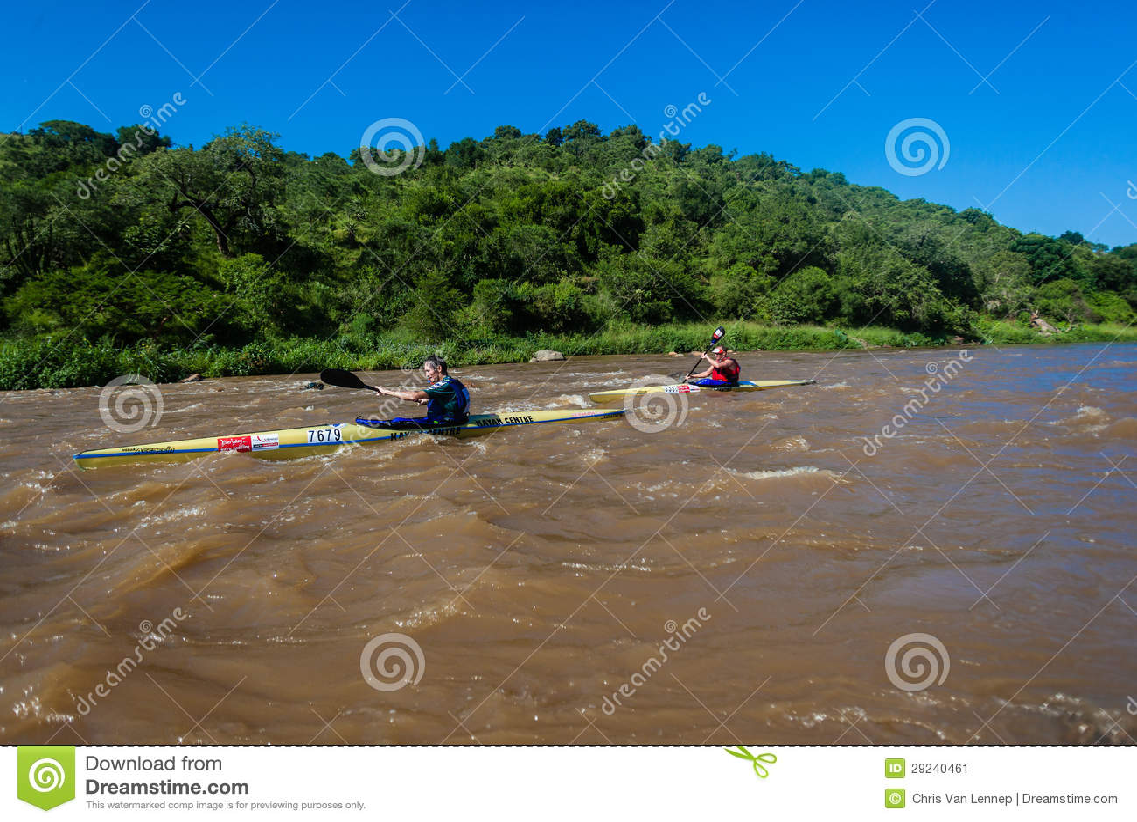 Download Raça Da Canoa Do Rio Dos Paddlers Foto Editorial - Imagem de evento, canoe: 29240461