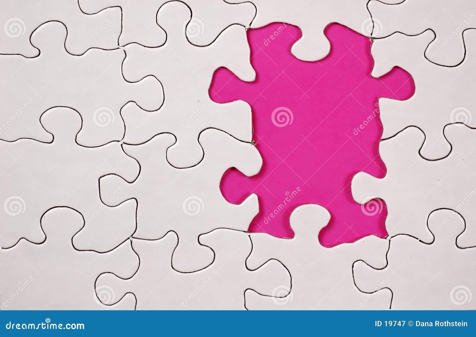Raadsel met Roze Achtergrond