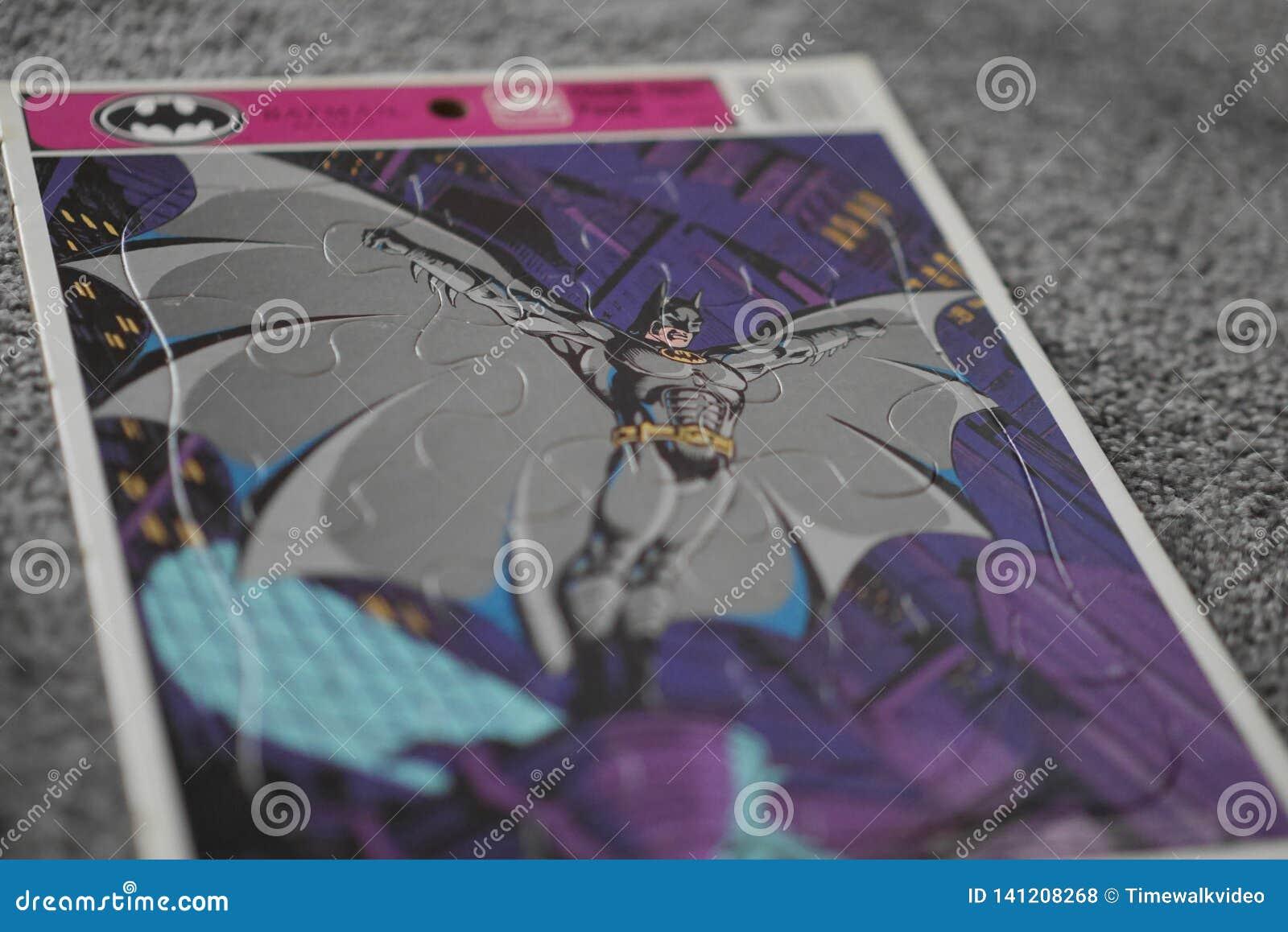 Raadsel van Batman van het kind het Uitstekende