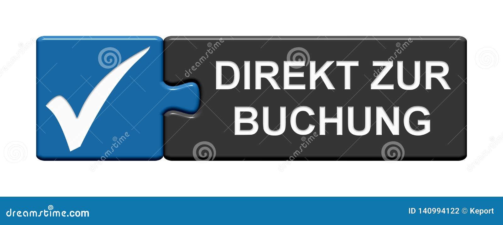 Raadselknoop met tikpictogram die tonen: Direct Duits boek