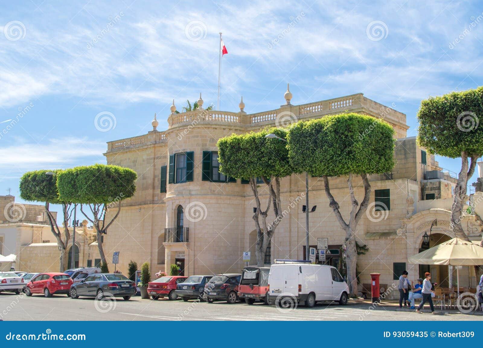 Rabat Malta, Maj, - 8, 2017: Ministerstwo dla Gozo budynku