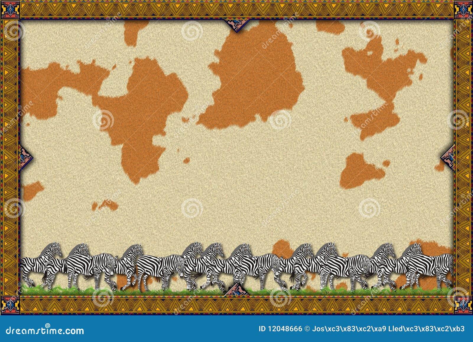 Rabatowy Afrykanina koń