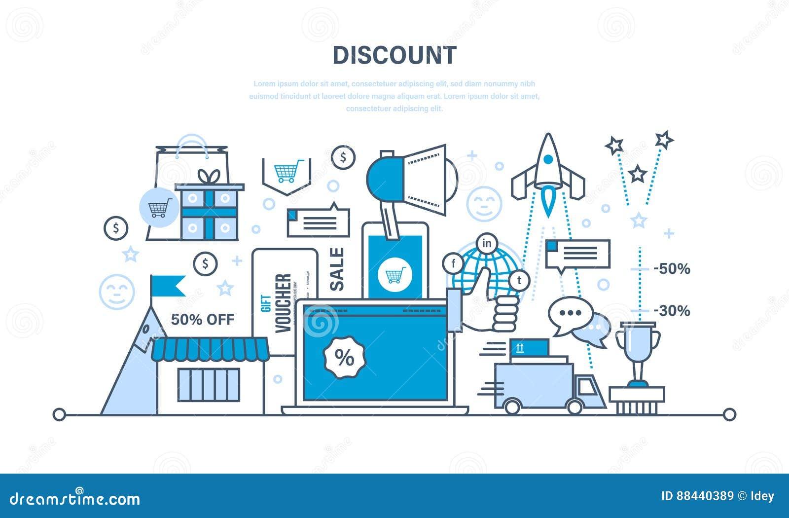 Rabatte, Belege, Entwürfe Und Geschenke, Einsparungensprogramme Und ...