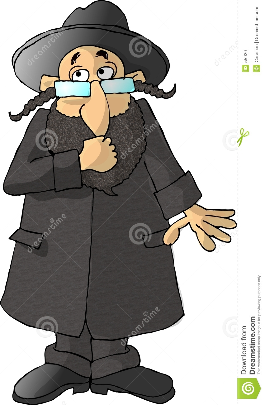 Download Rabbin illustration stock. Illustration du barbe, orthodoxe - 55920