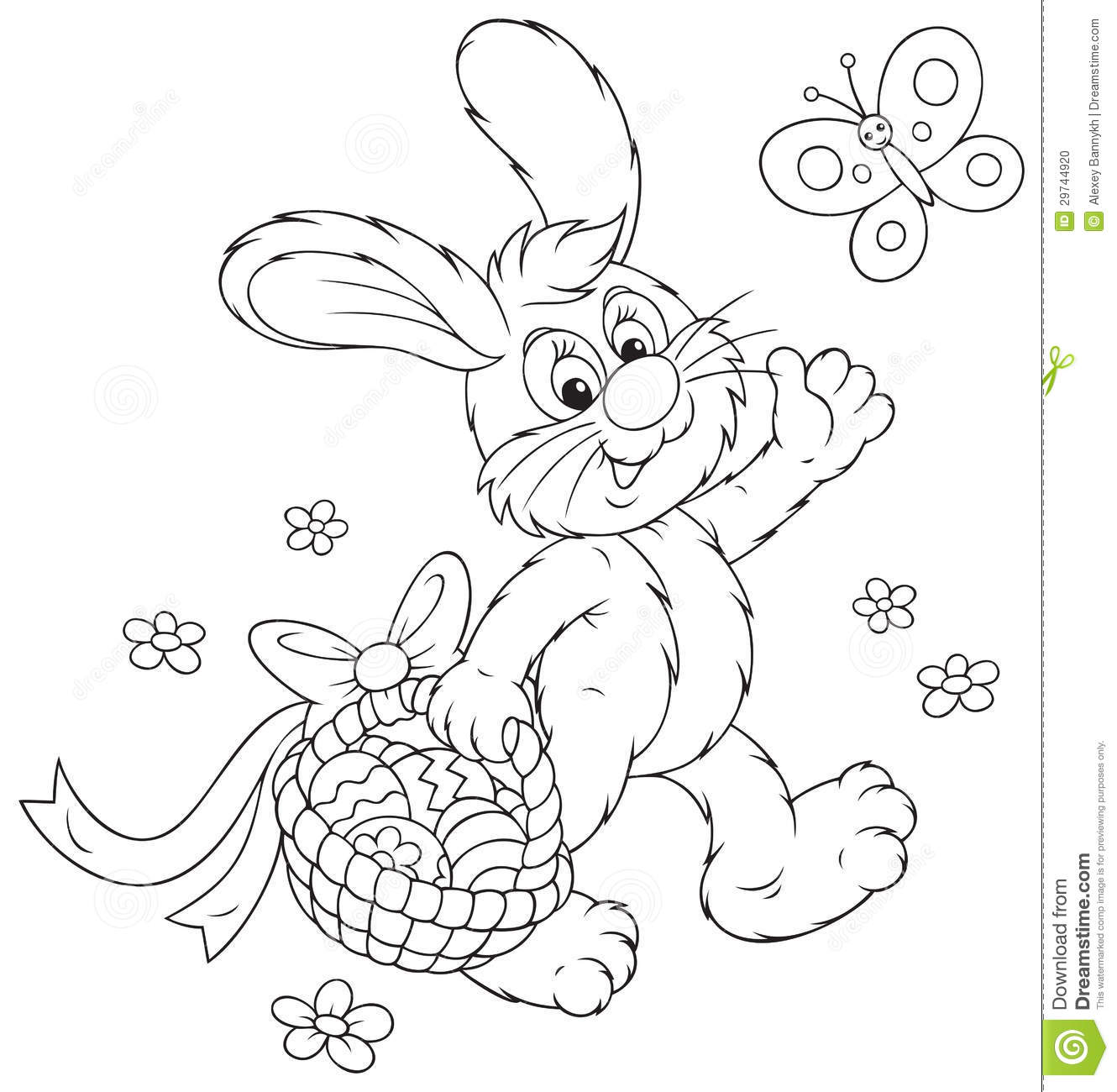 two easter chickens in the egg coloring page royalty free stock