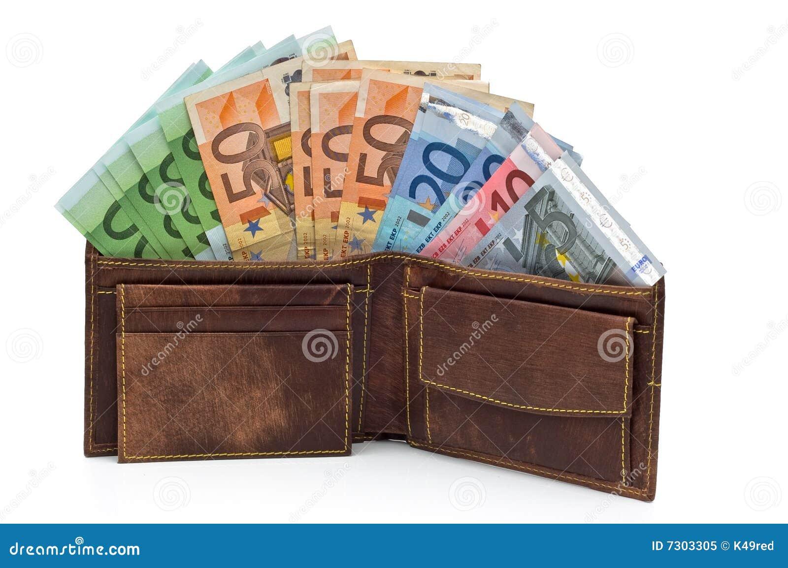 Raccoglitore e soldi