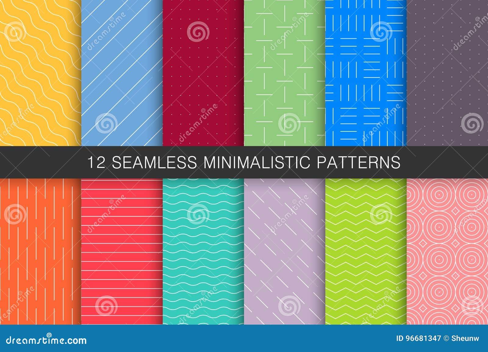 Raccolta dei modelli geometrici senza cuciture - ambiti di provenienza variopinti luminosi