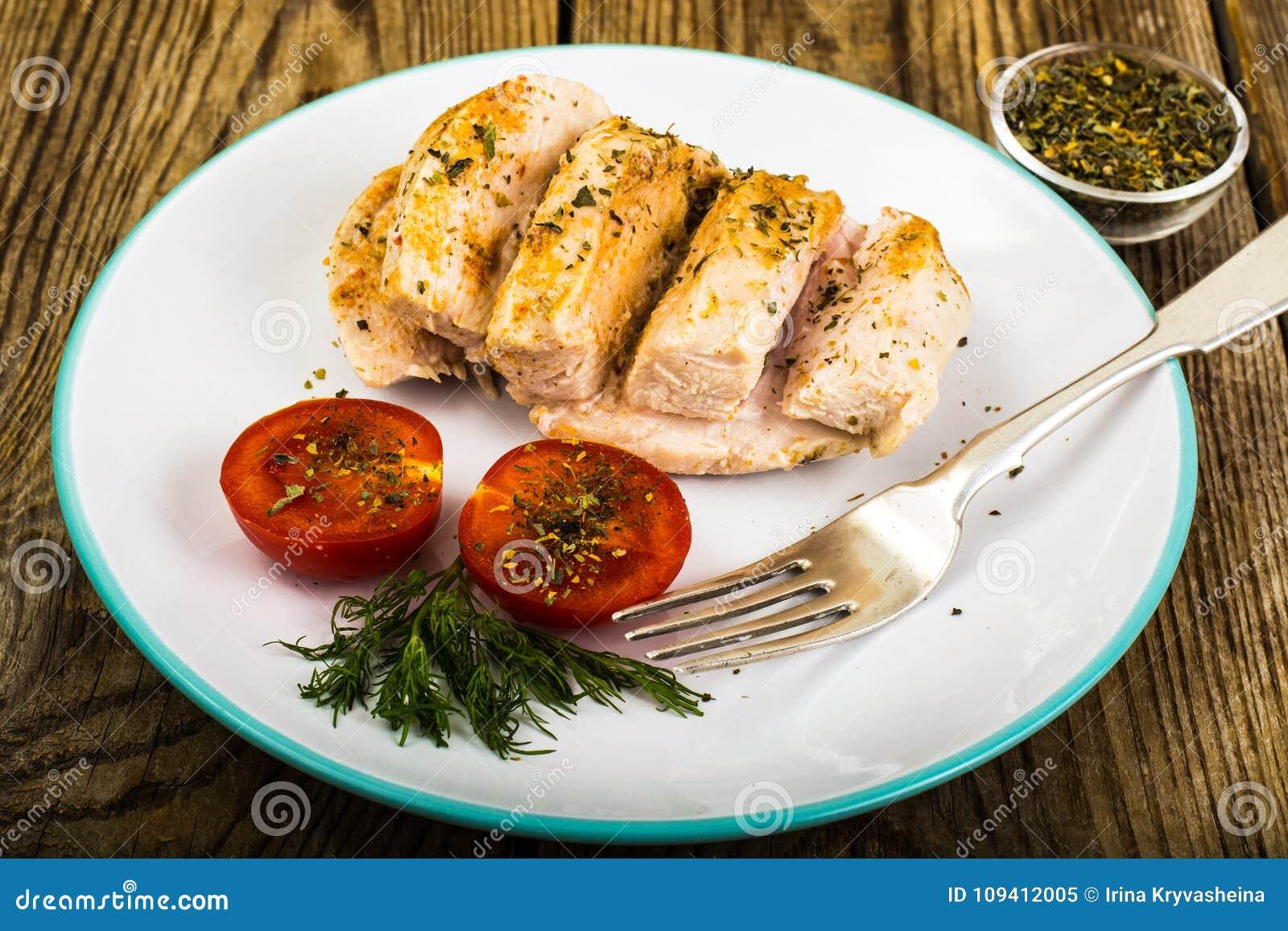 Dieta del pollo bollito
