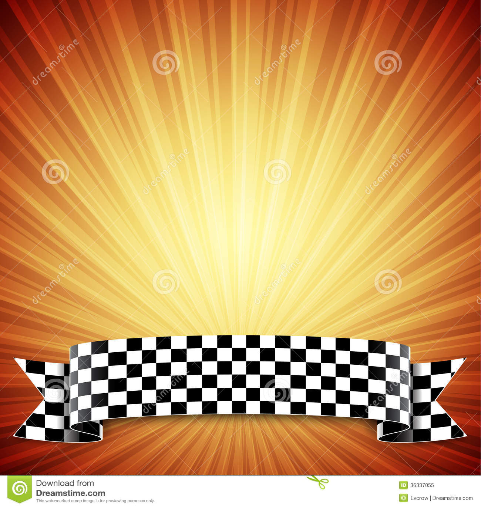 Race Background Checkered Flag Eps