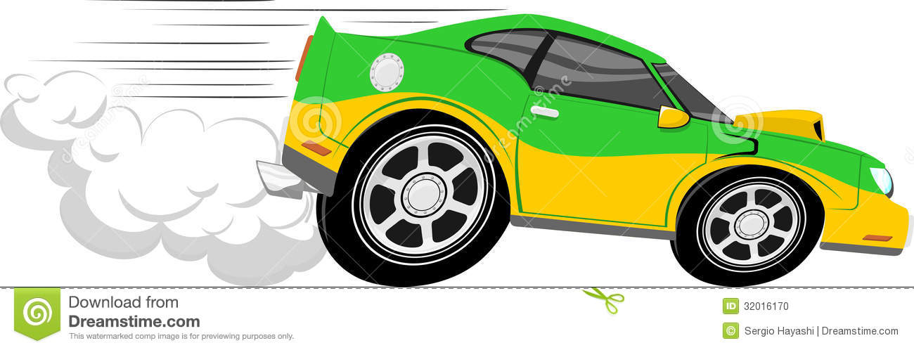 Funny Cartoon Race Car Pictures