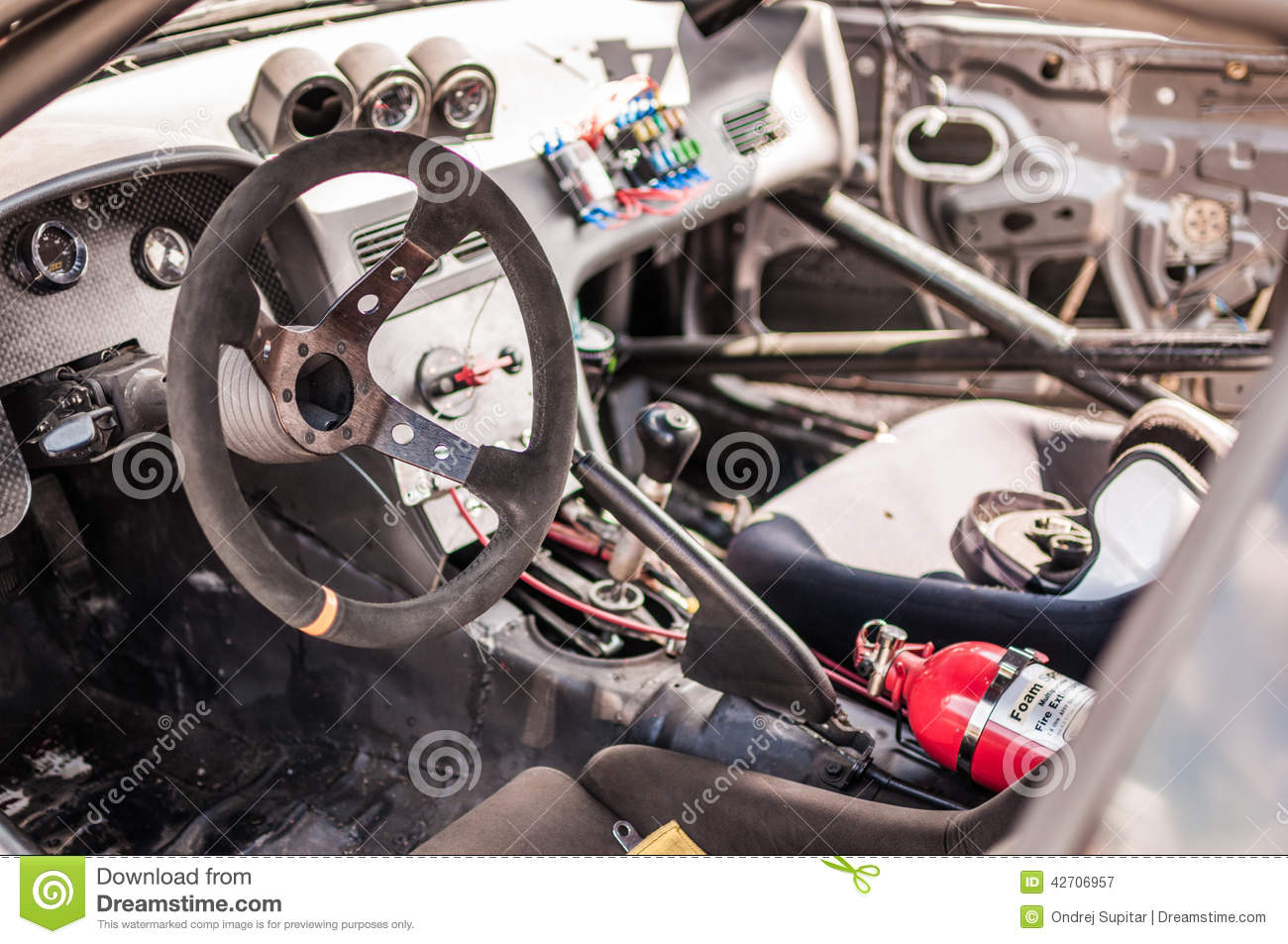 race car cockpit stock image image of dials. Black Bedroom Furniture Sets. Home Design Ideas
