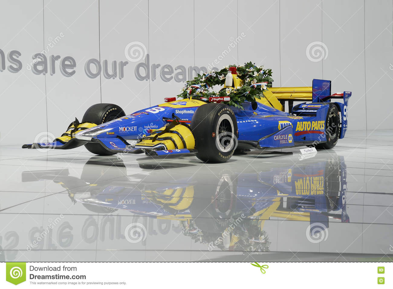 Race car editorial image 81190500 for Dream motors los angeles