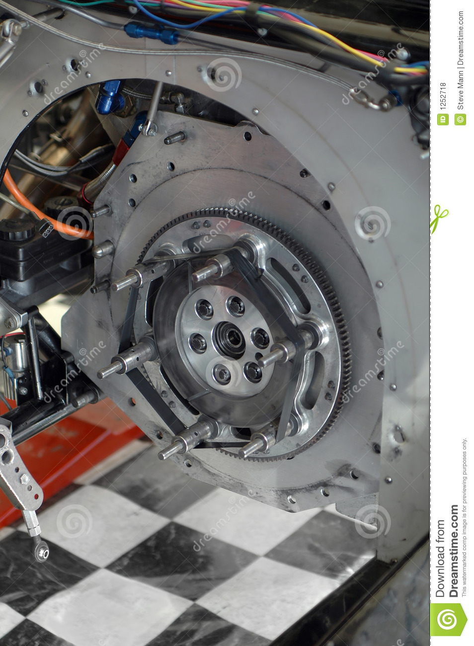 Race Car Transmission Stock Photo Image Of Funny Metal 1252718