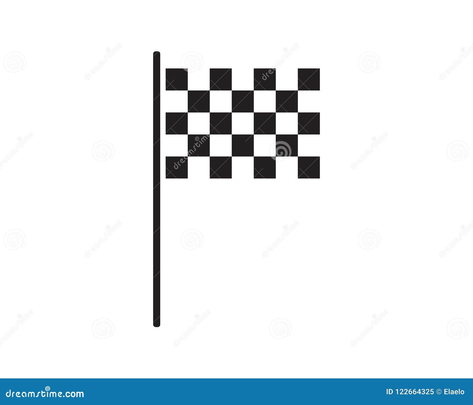 Race Flag Icon Template Illust...