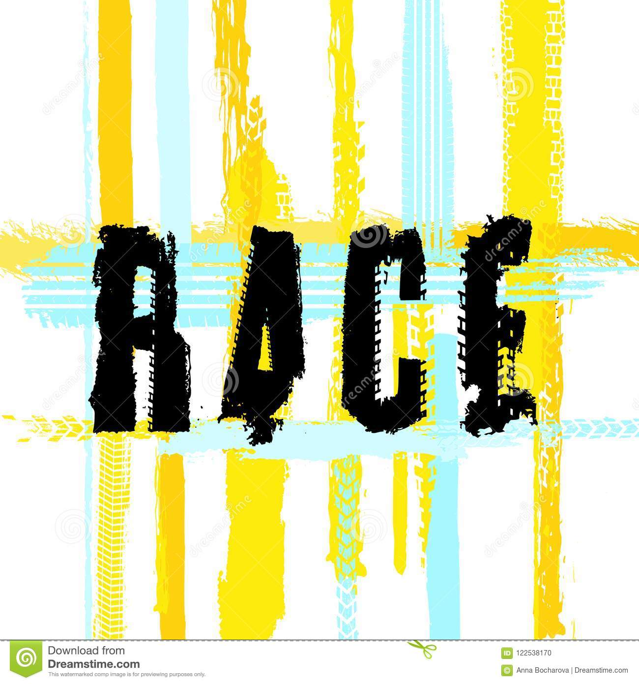 race lettering image stock vector illustration of automotive