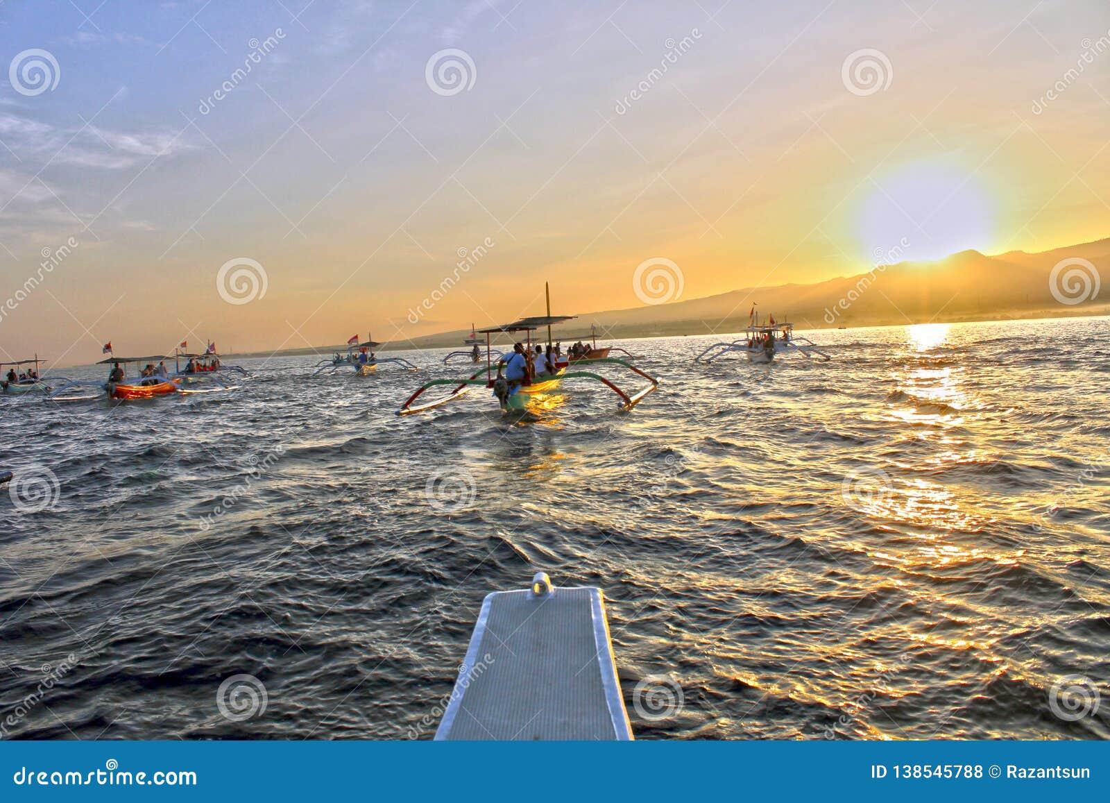 Race towards the sunrise