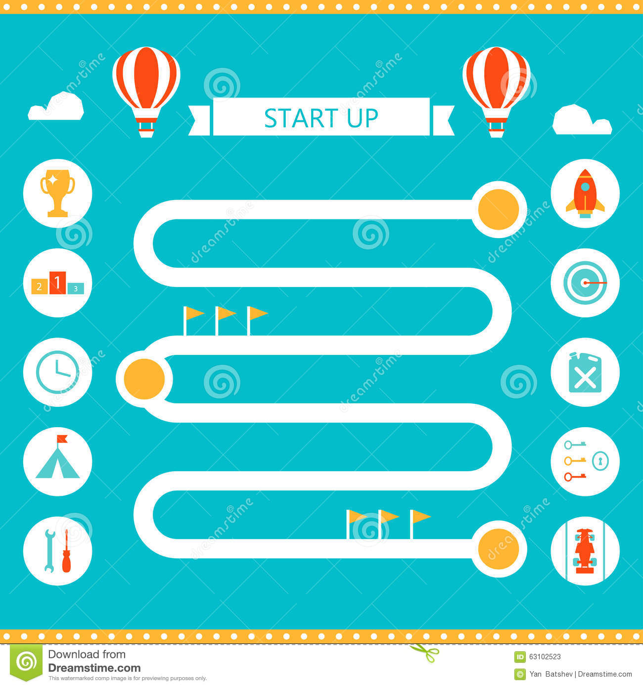 Race track infographics template start up and business strategy race track infographics template start up and business strategy concept cheaphphosting Gallery