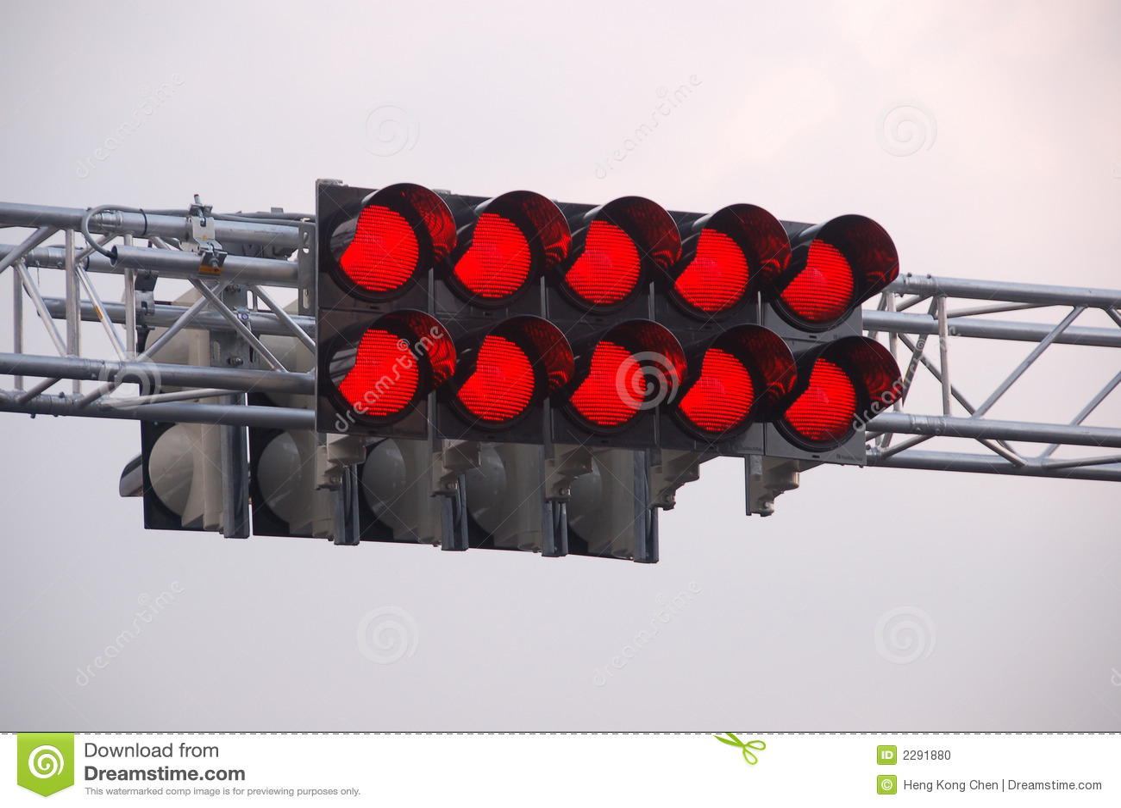 Race Track Starting Lights