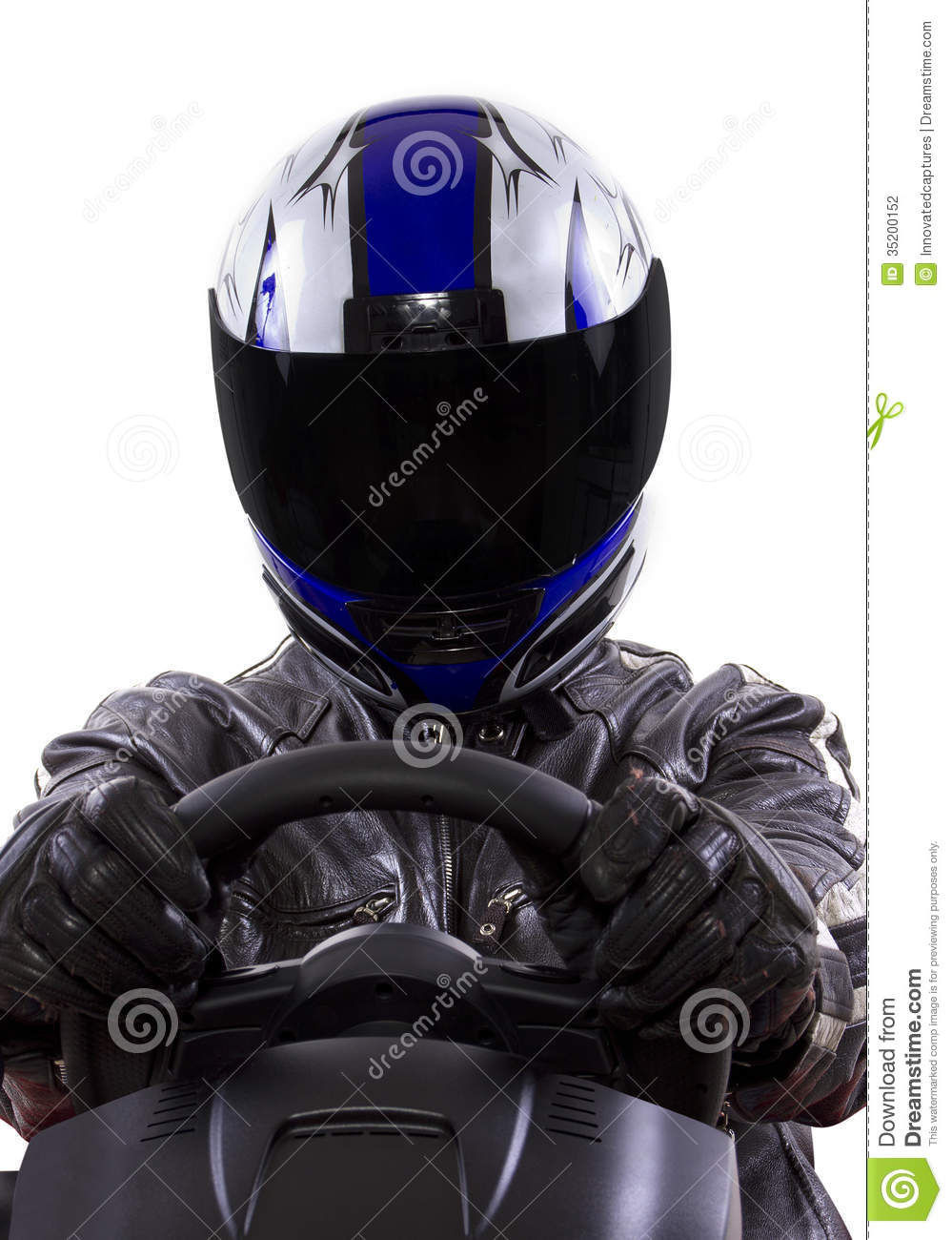 Racer Stock Photography Image 35200152