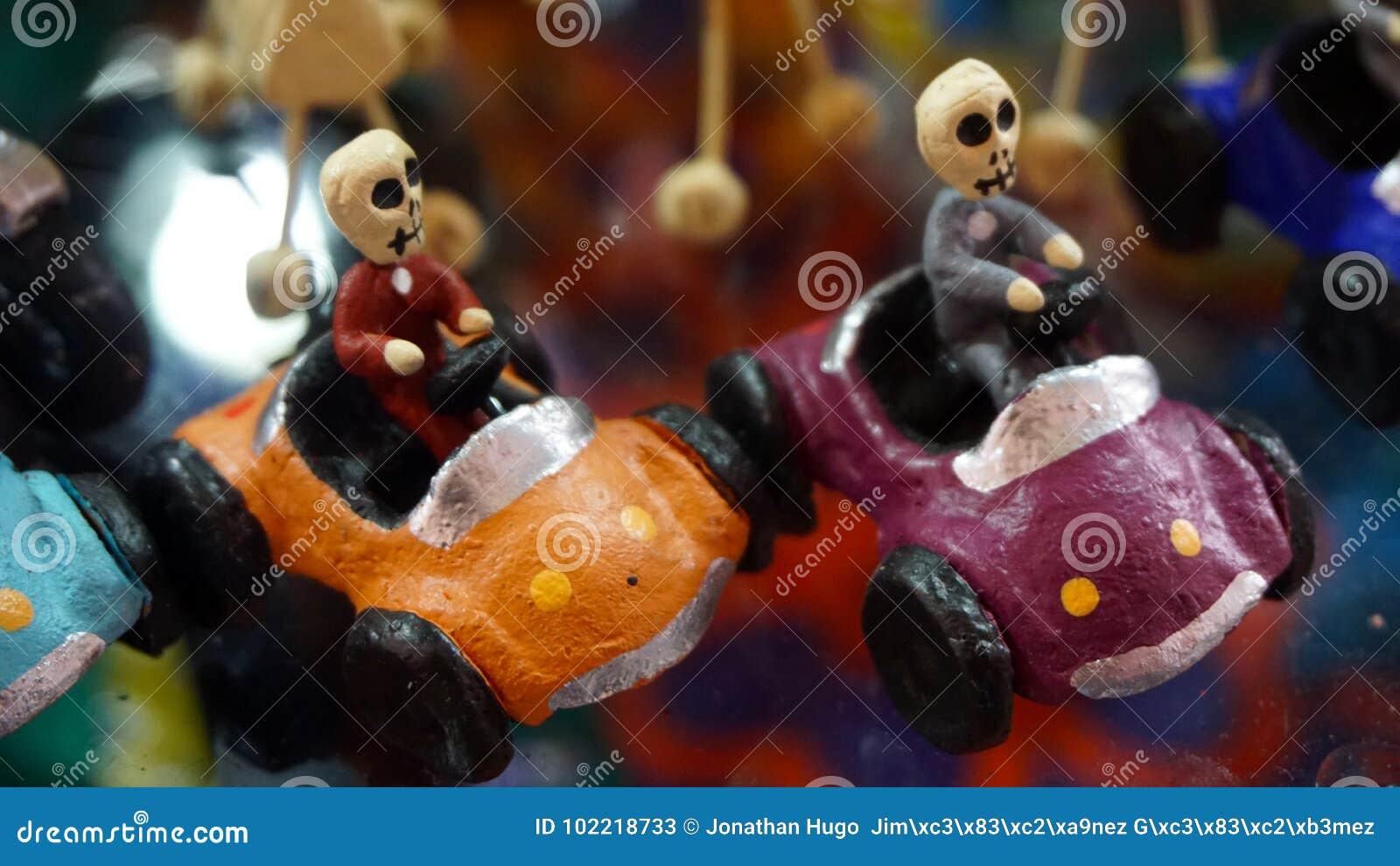 Racer skeletons