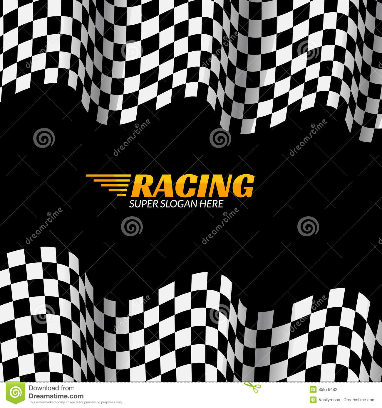 Banner Chequered Flag Stock Illustrations 582 Banner Chequered Flag Stock Illustrations Vectors Clipart Dreamstime