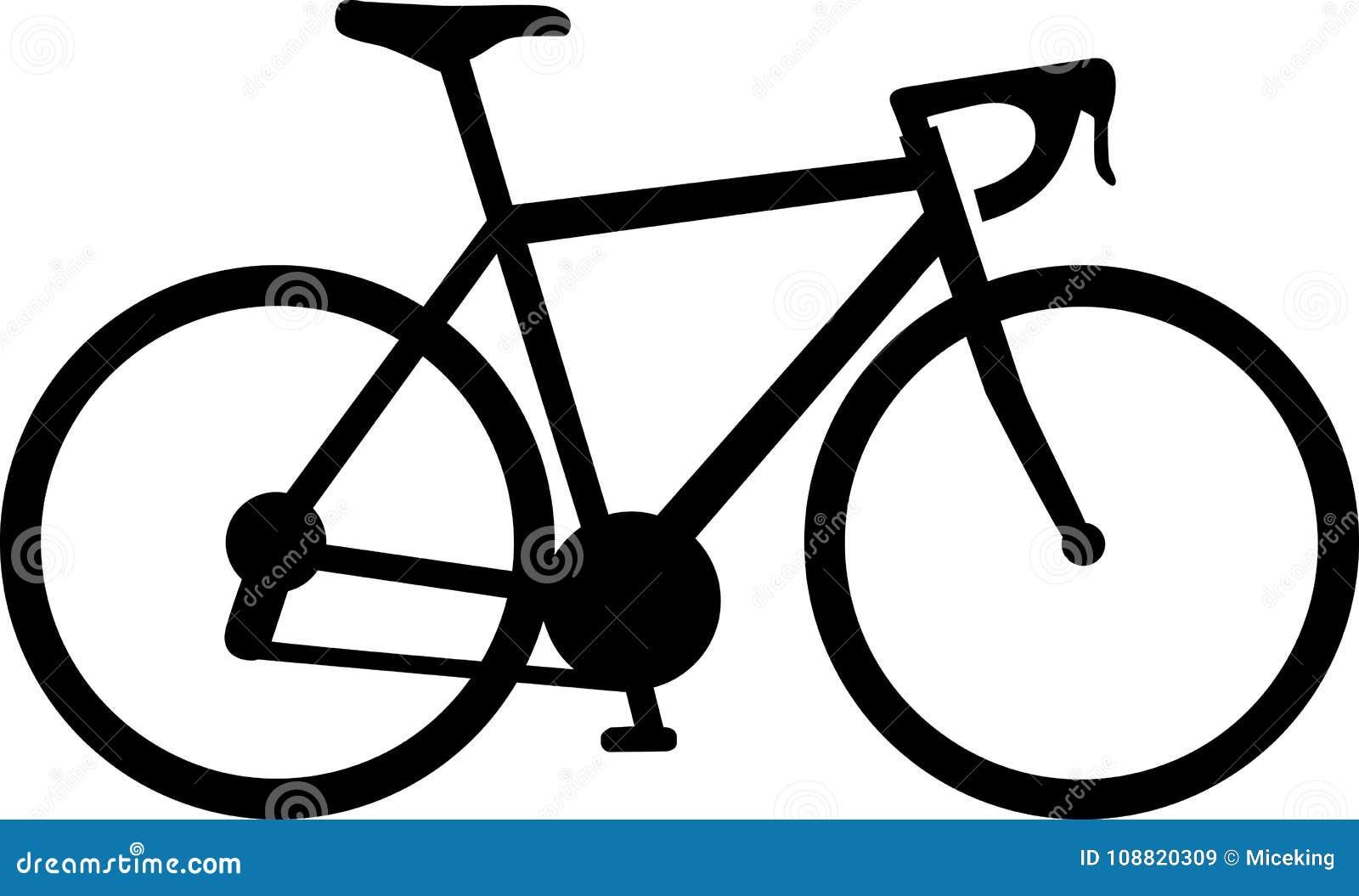 Racing Bicycle Icon