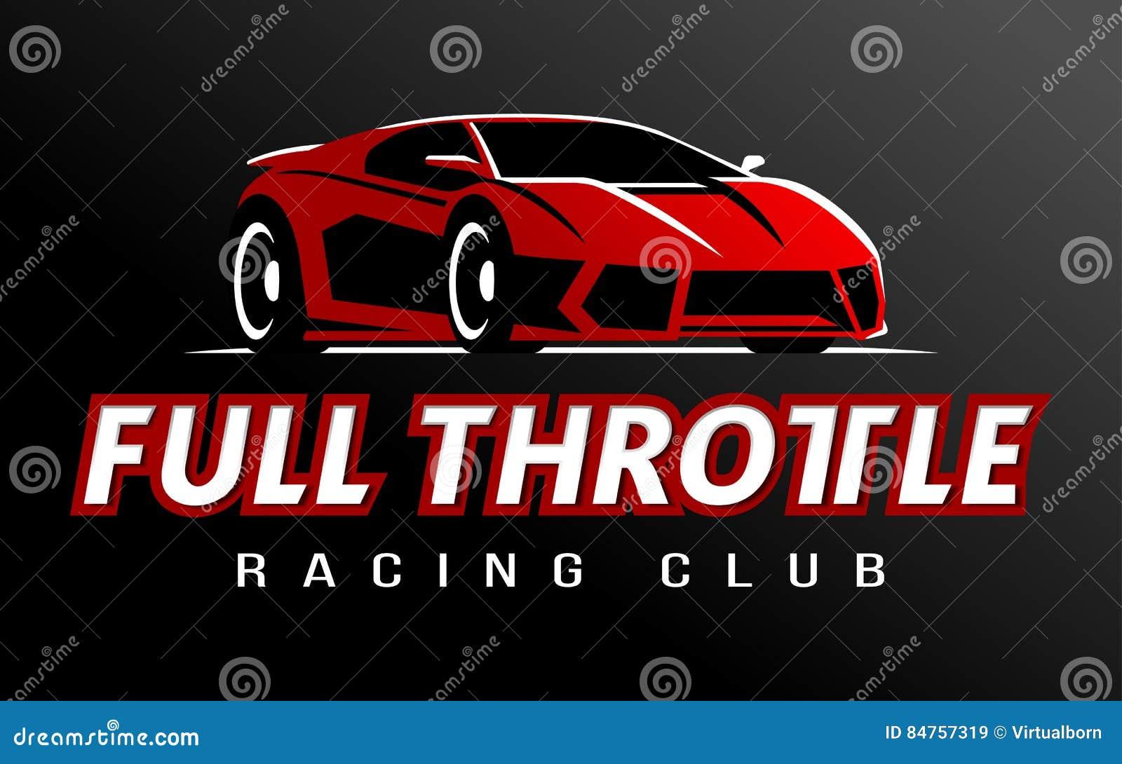 Design car club logo - Racing Car Club Logo Vector