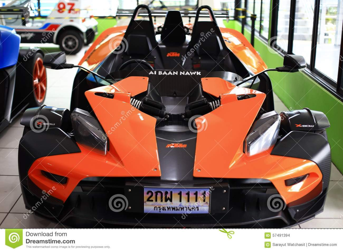 Racing Car Ktm X Bow Editorial Stock Image Image Of Sport 57491394
