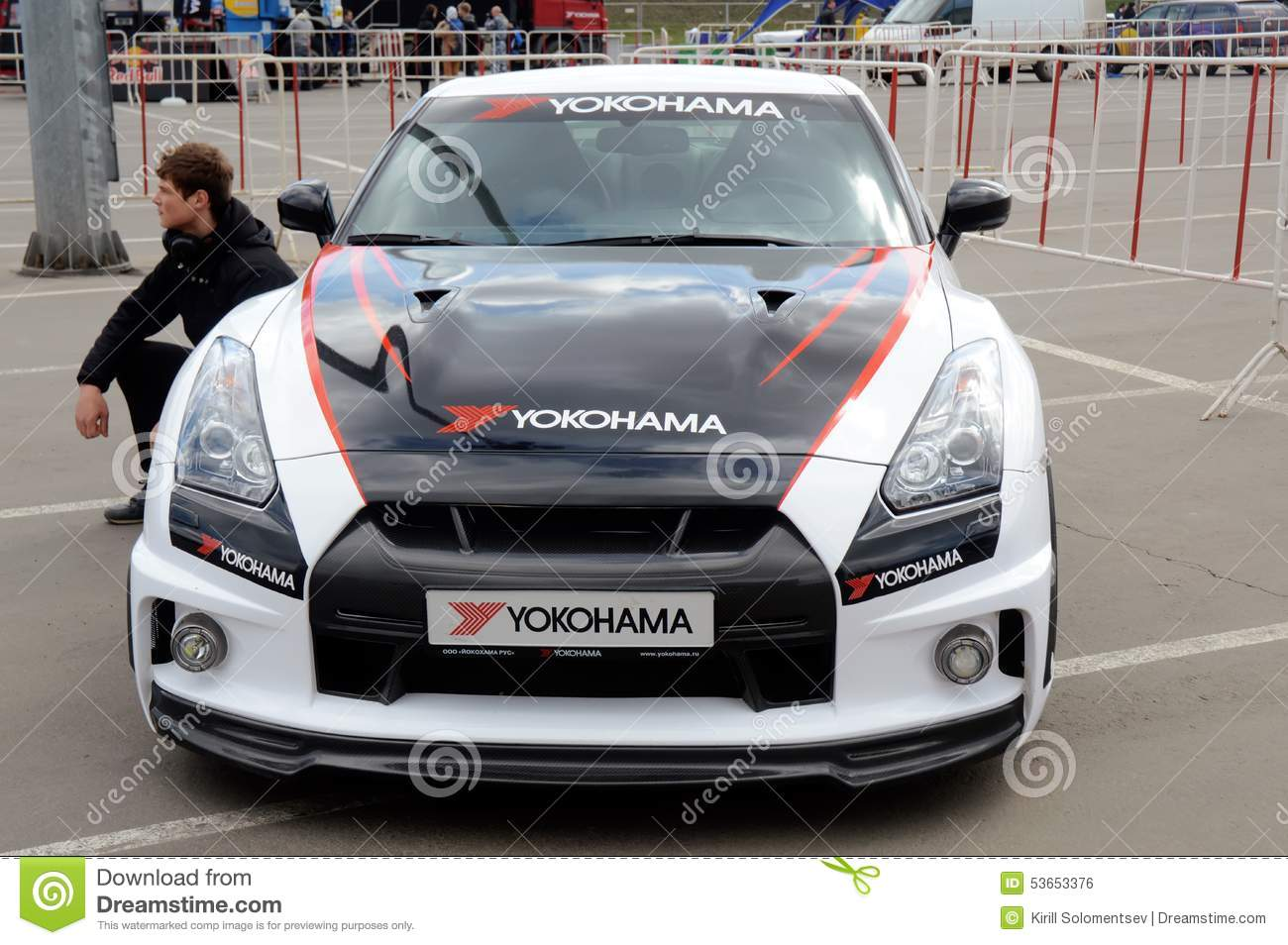 Racing Car Nissan Gtr Editorial Photo Image 53653376