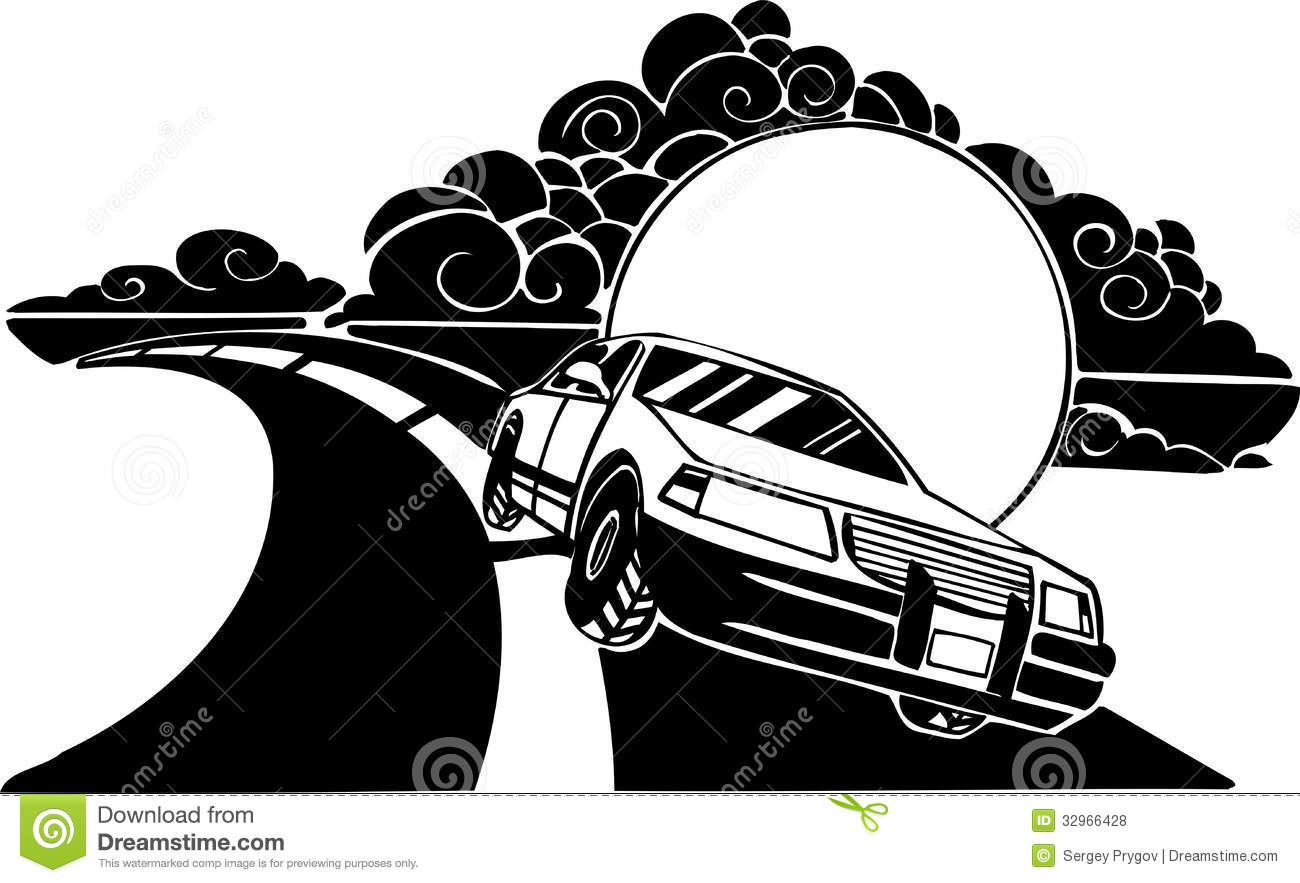 Racing Car Vector Illustration Royalty Free Stock Photos Image