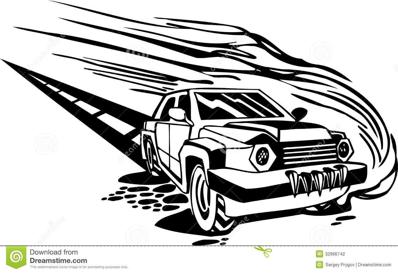Racing Car Vector Illustration Stock Photography Image