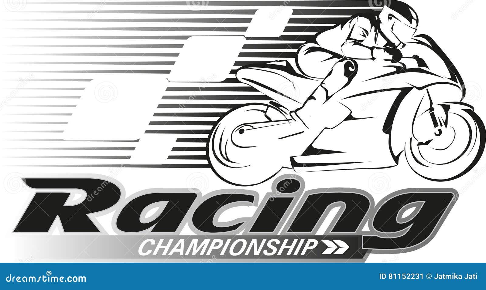 Racing Championship Stock Vector Illustration Of Logo 81152231