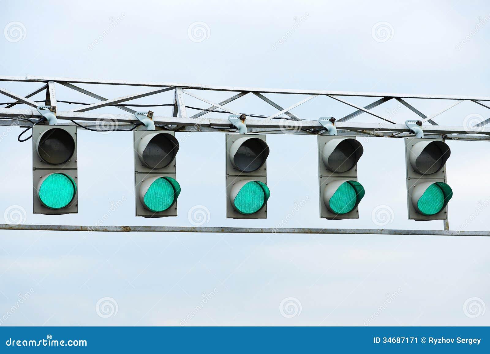Gif Of Car Race Green Light