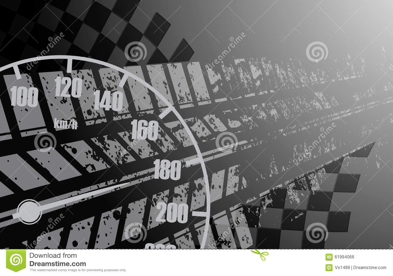Racing Square Background Vector Illustration Abstraction Rac Car Track