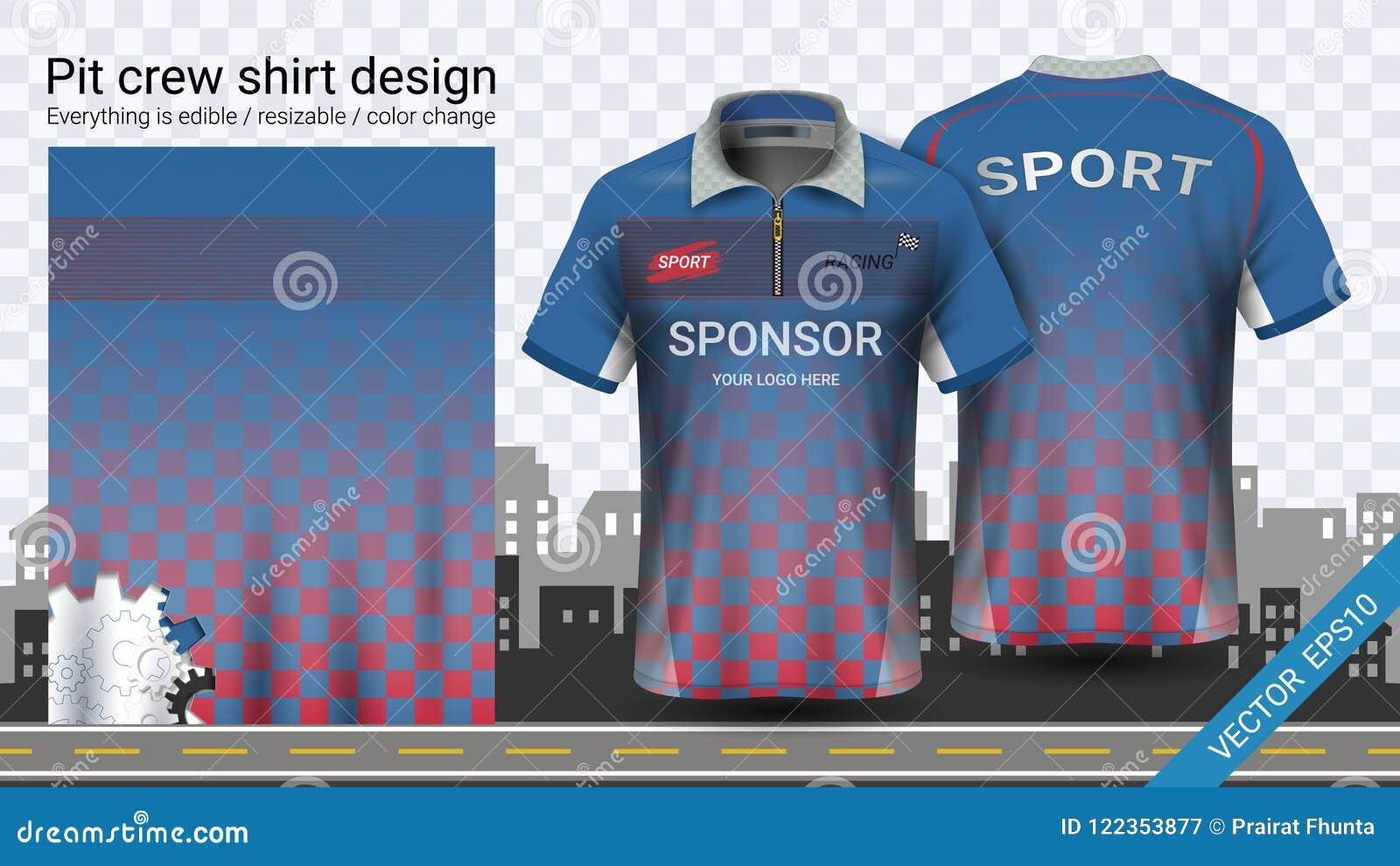 90edb5b36 Racing T-shirt With Zipper