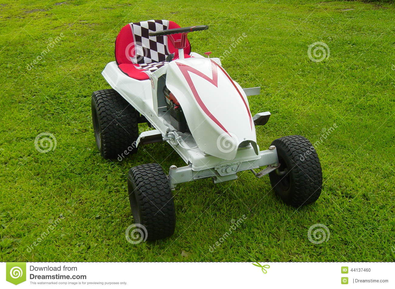Custom Racing Tractors : Racing tractor parked on grass stock photo image of nice