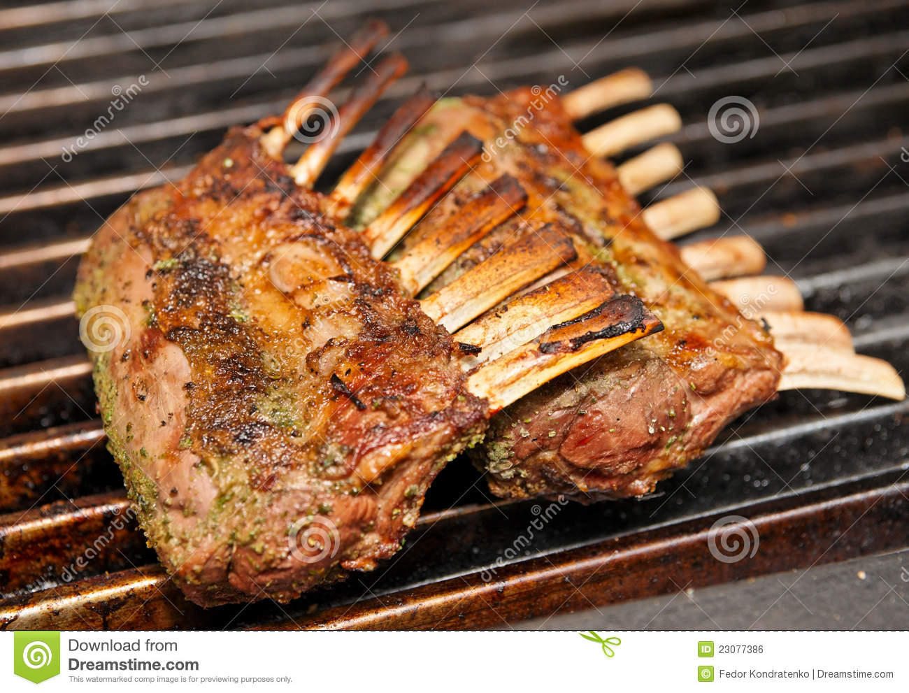 how to cook rack of lamb on grill