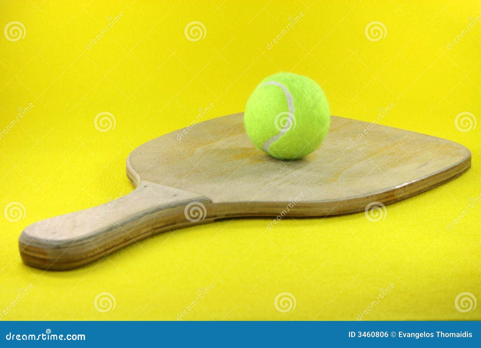Racket en bal