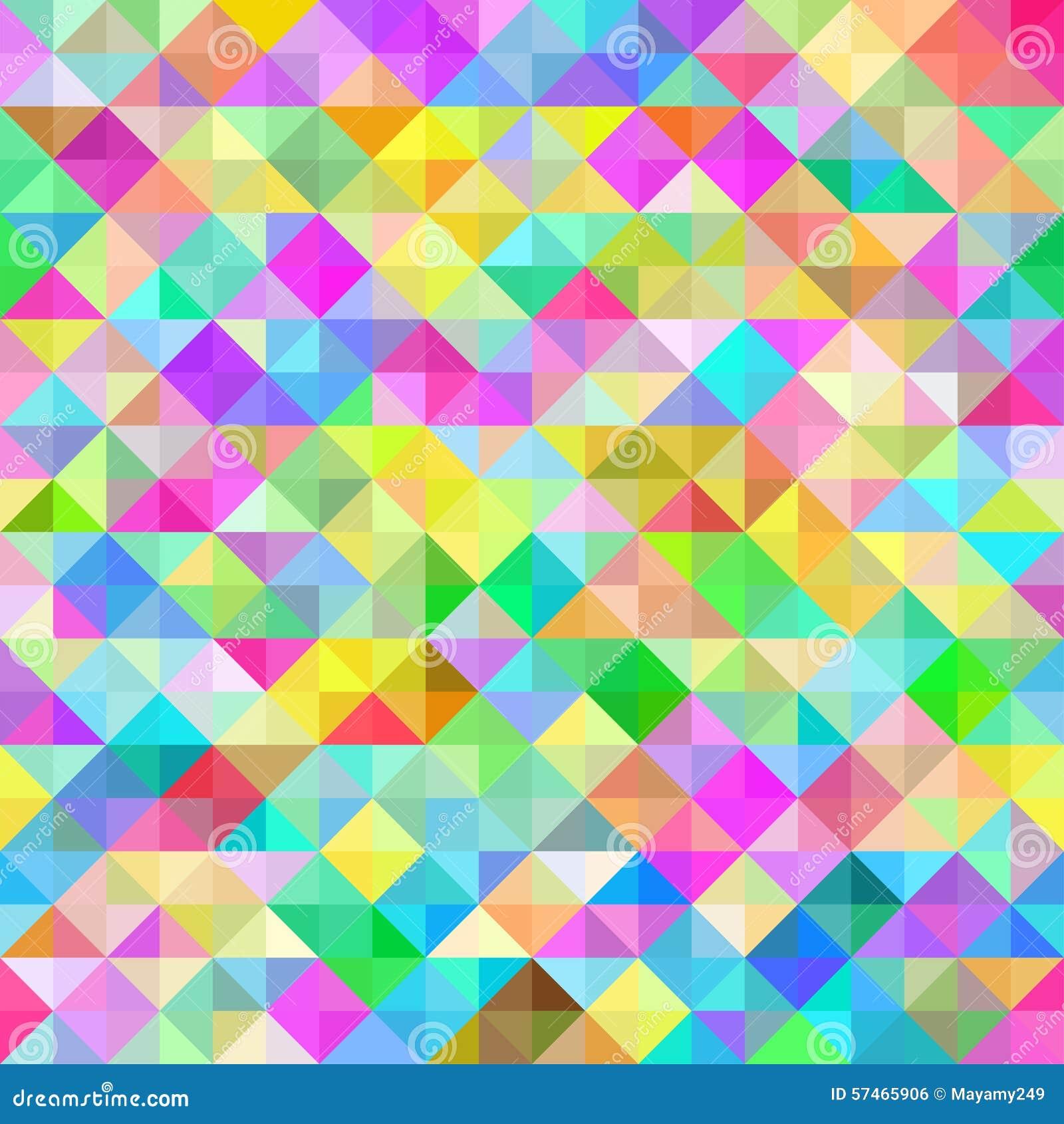 Seamless polygon background