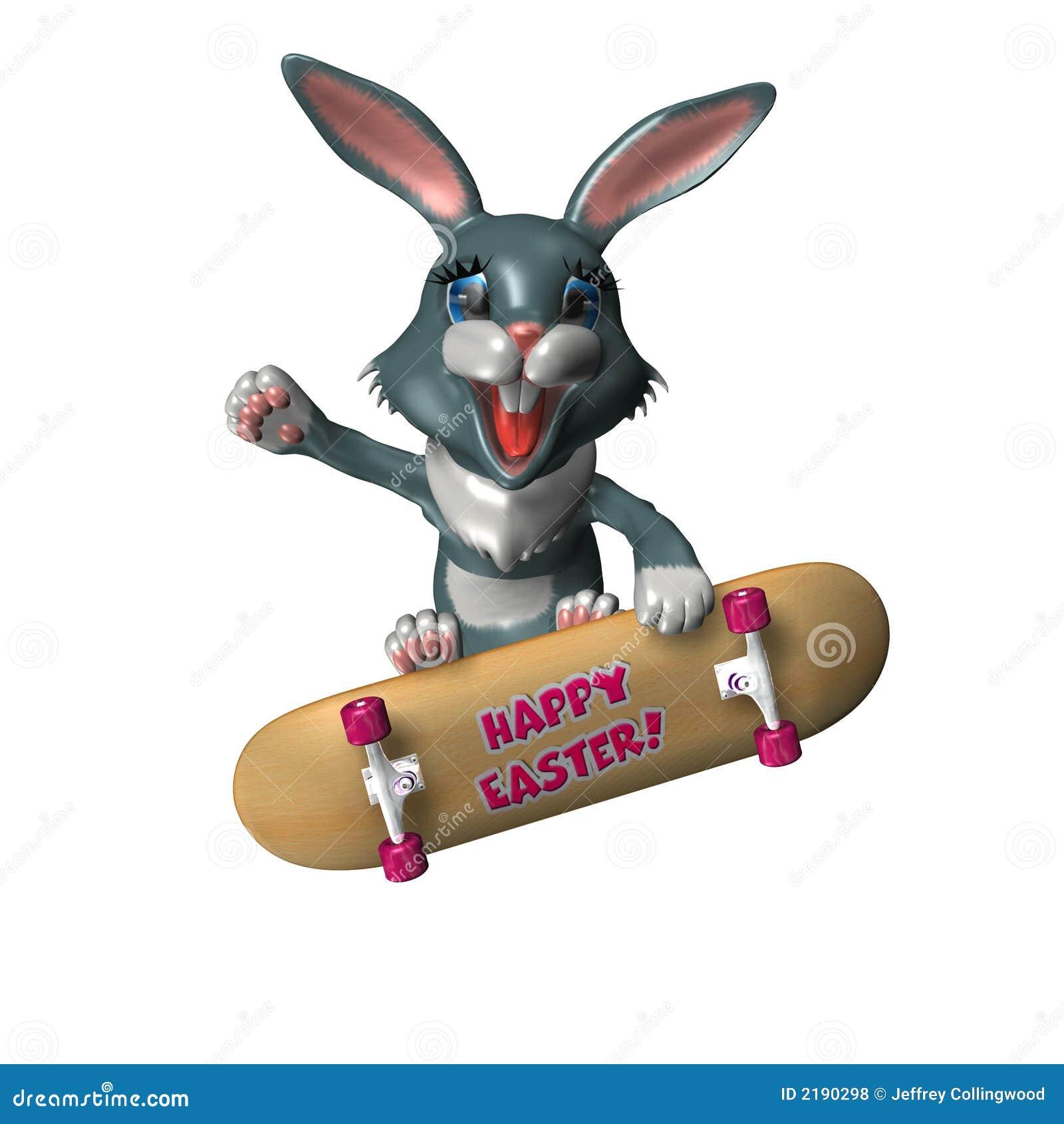 Rad Easter Bunny 1 Stock Photo Image Of Ride Happy