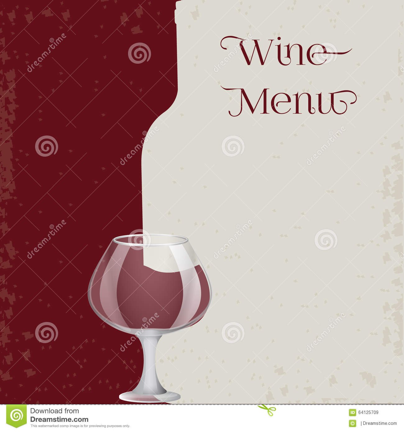 rad wine menu background. stock vector. illustration of illustration